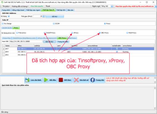 Phần mềm Auto SEO & Traffic Soft Việt