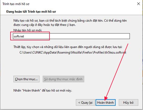 Hướng dẫn tạo Firefox Profile đăng nhập Gmail