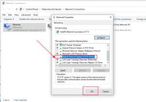 Cách tắt IPv6 trên windows 10